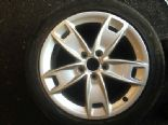 "2010 AUDI A3 1.6 TDI SPORT 5 SPOKE 17"" ALLOY WHEEL & TYRE BREAKING 8P0601025BL"